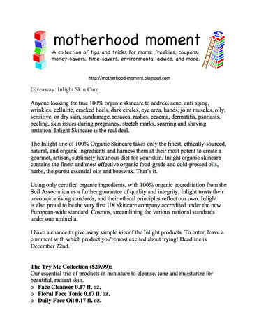 Hug Your Skin on motherhood-moment.blogspot.com
