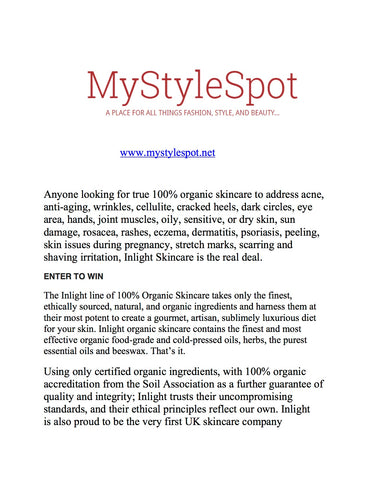 Hug Your Skin on mystylespot.net