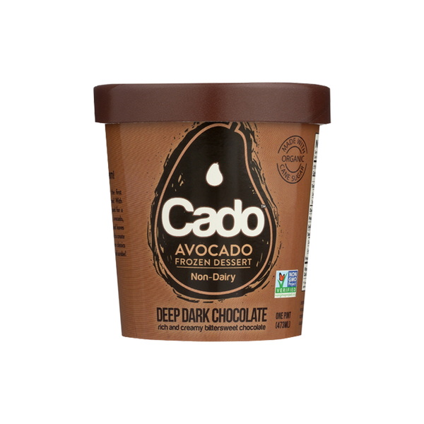 Cado - Deep Dark Chocolate (1 pint) (Store Pick - Up Only)