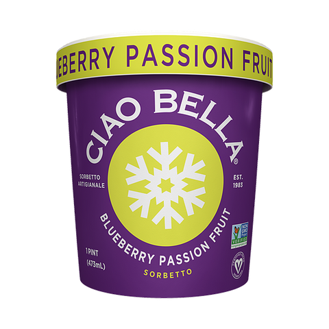 Ciao Bella - Blueberry Passion Fruit Sorbet (Store Pick - Up Only)