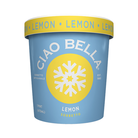 Ciao Bella - Lemon Sorbet (Store Pick - Up Only)