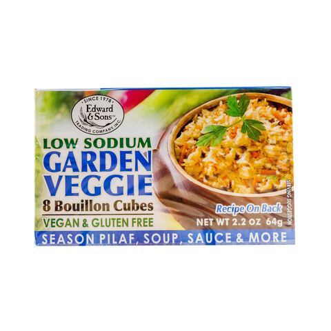 Edward & Sons - Low Sodium Veggie Cubes