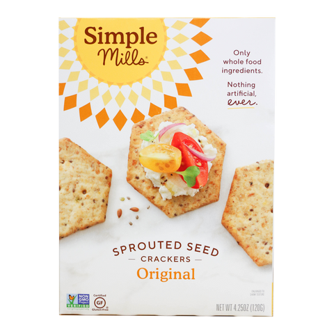 Simple Mills - Original Sprouted Seed Crackers
