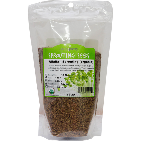 Handy Pantry - Alfalfa Sprouting Seeds 16oz