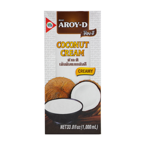 Aroy - D Coconut Cream (33.8 oz)
