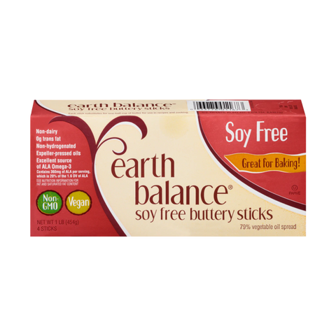 Earth Balance - Soy Free Buttery Sticks (Store Pick - Up Only)
