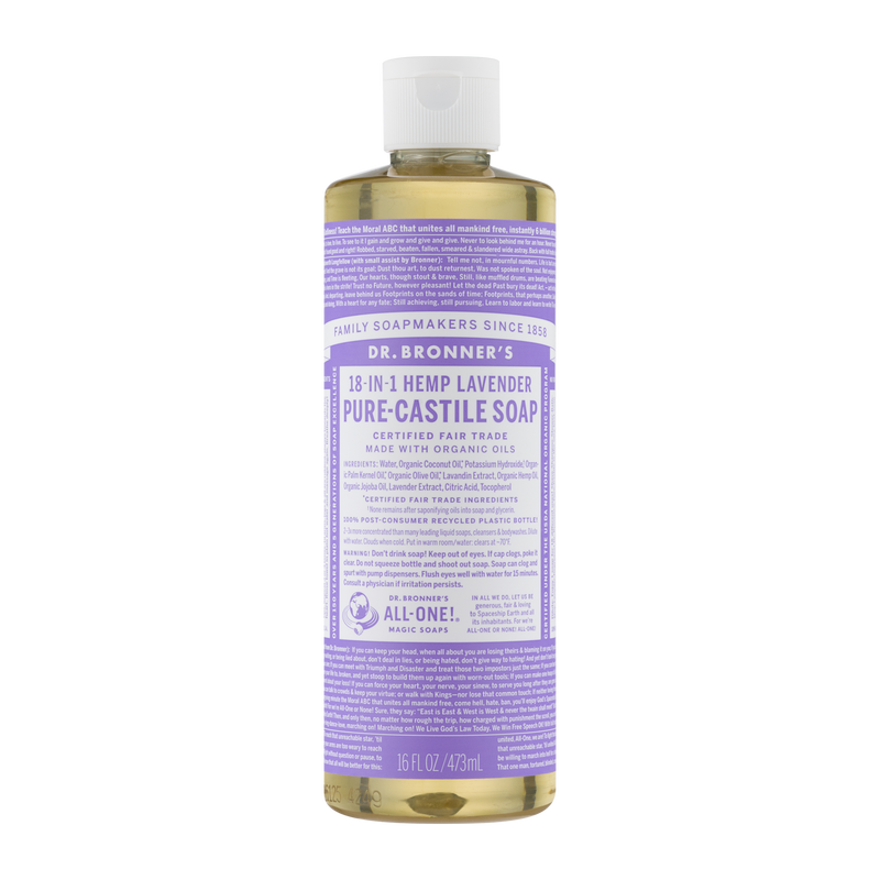 Dr. Bronner's - 18 in 1 Hemp Lavender Soap - (16 oz)