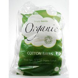 Simply Gentle Organic Cotton Pack of 100 Balls - Made 100% organic cotton Enviro - SustainTheFuture - 2