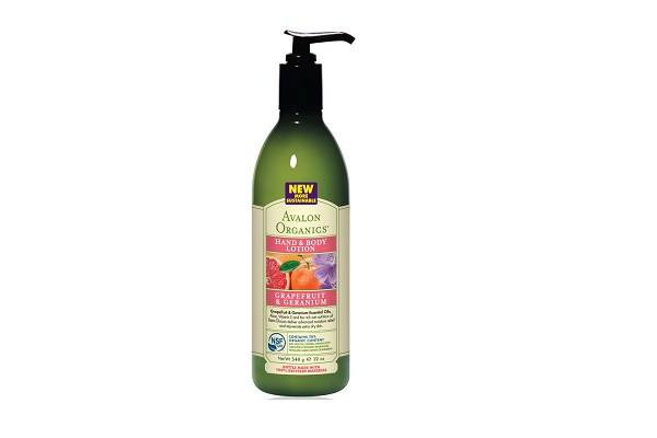Avalon Organics Hand & Body Lotion - Grapefruit & Geranium - 340g. Rejuvenate your skin with - SustainTheFuture
