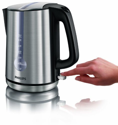 Philips HD4671/20 Energy Efficient Kettle, 3000 Watt, 1.7 Litre - Brushed Metal - SustainTheFuture - 5