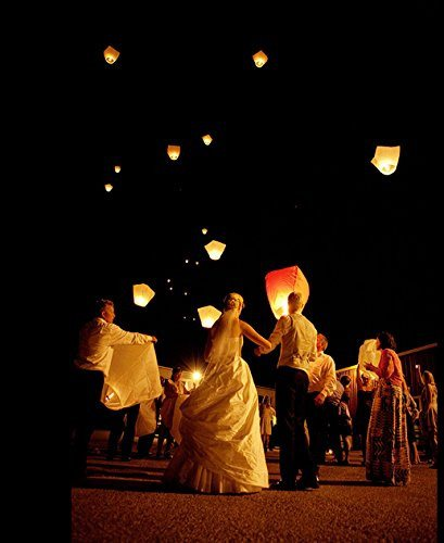 20 x Eco-Friendly Sky Lanterns for Christmas, New Year, Chinese New Year, New Ye - SustainTheFuture - 7