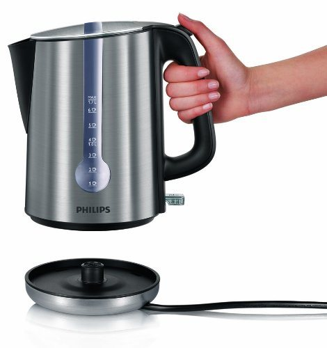 Philips HD4671/20 Energy Efficient Kettle, 3000 Watt, 1.7 Litre - Brushed Metal - SustainTheFuture - 2