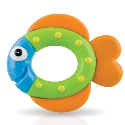 Nuby Octopus Floating Bath Toy (Multi-Coloured) Encourages counting - SustainTheFuture - 4