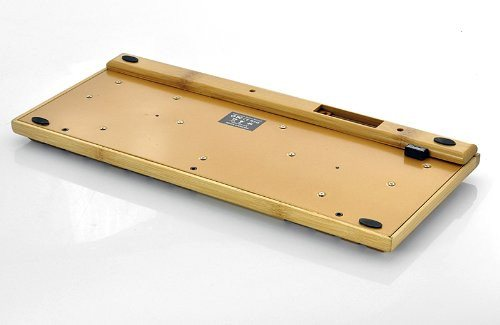 Handcrafted Wireless Bamboo Keyboard - Eco-Friendly - SustainTheFuture - 6