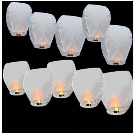 20 x Eco-Friendly Sky Lanterns for Christmas, New Year, Chinese New Year, New Ye - SustainTheFuture - 11