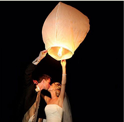 20 x Eco-Friendly Sky Lanterns for Christmas, New Year, Chinese New Year, New Ye - SustainTheFuture - 9