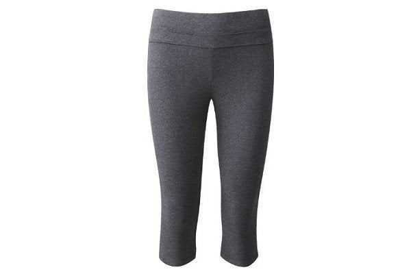 Organic Cotton 3/4 Leggings - Made from fantastic quality organic cotton, flat wide waist band - SustainTheFuture - 1