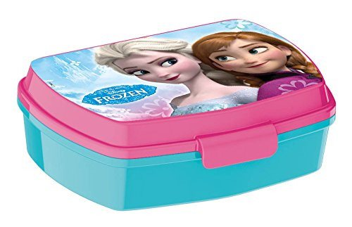 Disney Frozen Timeless Funny Sandwich Box. Made from polypropylene plastic - SustainTheFuture - 2
