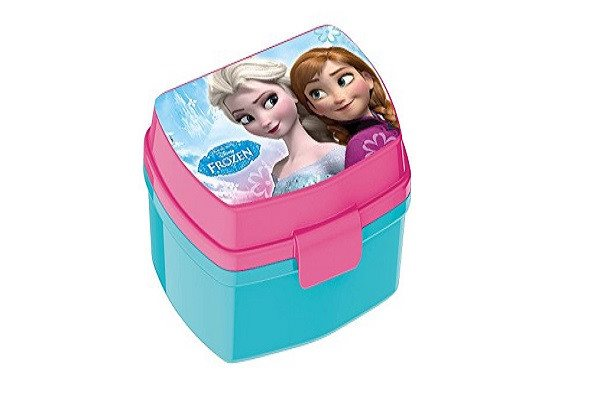 Disney Frozen Timeless Funny Sandwich Box. Made from polypropylene plastic - SustainTheFuture - 1