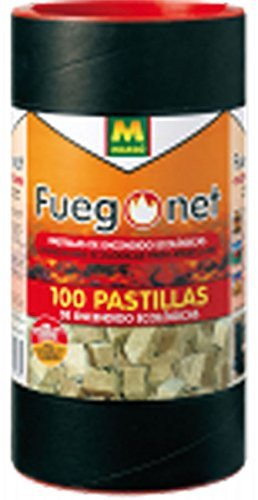 Fuego Net 231169 - Eco-friendly Firelighters (contains 100 units) 231169 - SustainTheFuture - 2