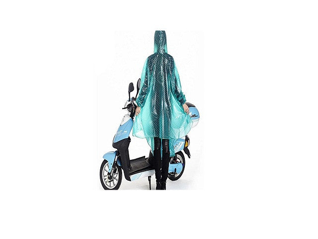 Enjoydeal Durable Waterproof Outdoor One-piece Raincoat Dress Suit for Riding Motorcycle Electric Bike - SustainTheFuture - 1