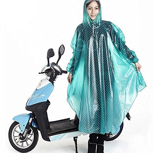 Enjoydeal Durable Waterproof Outdoor One-piece Raincoat Dress Suit for Riding Motorcycle Electric Bike - SustainTheFuture - 3