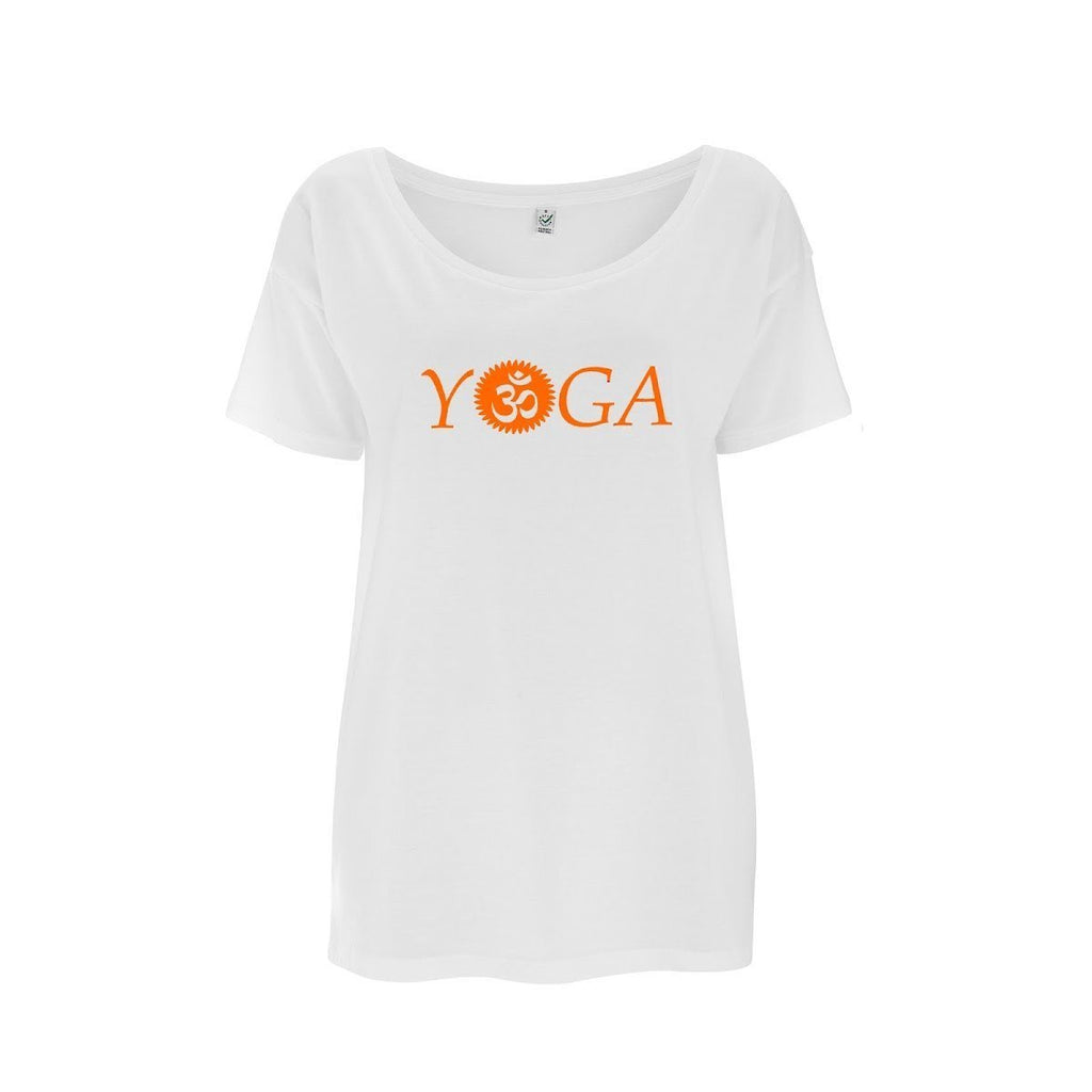 Womens OM Yoga Top made from Eucalyptus Fibre and 50% Organic Cotton - SustainTheFuture - 8