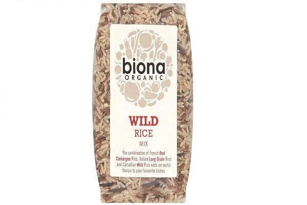 Biona Organic Wild Rice Mix 500 g (Pack of 3) - mix of exotic rices,  Gm free - SustainTheFuture - 1