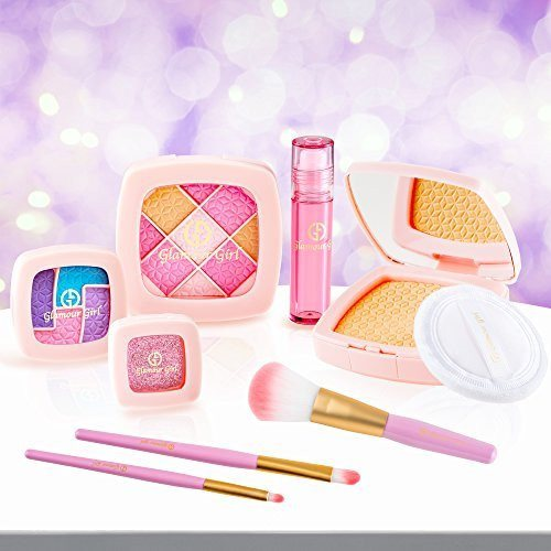 Makeup Set For Children by Glamour Girl Pretend Play Make up Kit Great For Littl - SustainTheFuture - 5