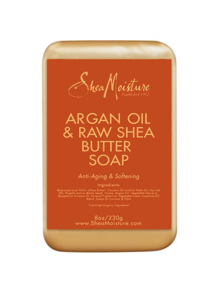 Shea Moisture Organic Argan & Raw Shea Butter Soap (All Sealed) - anti-oxidant-r - SustainTheFuture - 2