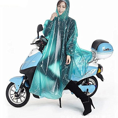 Enjoydeal Durable Waterproof Outdoor One-piece Raincoat Dress Suit for Riding Motorcycle Electric Bike - SustainTheFuture - 2