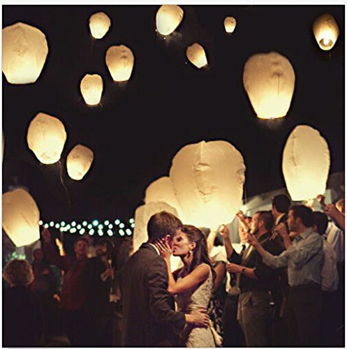 20 x Eco-Friendly Sky Lanterns for Christmas, New Year, Chinese New Year, New Ye - SustainTheFuture - 12