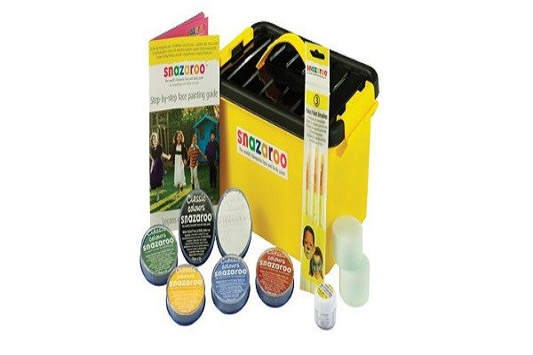 Face Painting Mini Starter Kit Water-Based, Easy-On & Easy-Off and Non-Toxic - SustainTheFuture - 1
