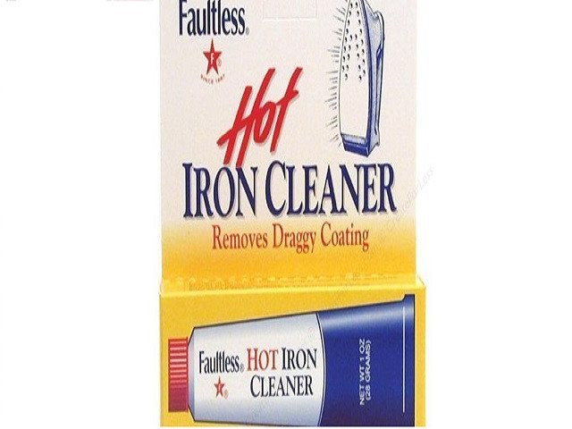Faultless Hot Iron Soleplate Cleaner & Burn Remover Easy and Handy, Can Be Used To Remove Melted Webs, Fusibles - SustainTheFuture - 1