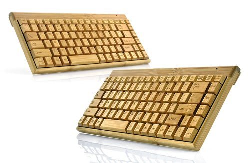 Handcrafted Wireless Bamboo Keyboard - Eco-Friendly - SustainTheFuture - 8