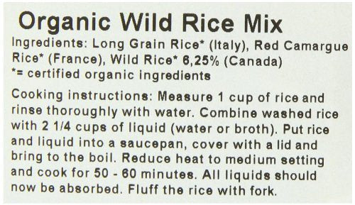 Biona Organic Wild Rice Mix 500 g (Pack of 3) - mix of exotic rices,  Gm free - SustainTheFuture - 6