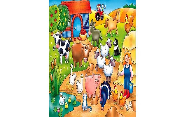 Orchard Toys Who's on the Farm? Ideal puzzle for younger children - SustainTheFuture - 1