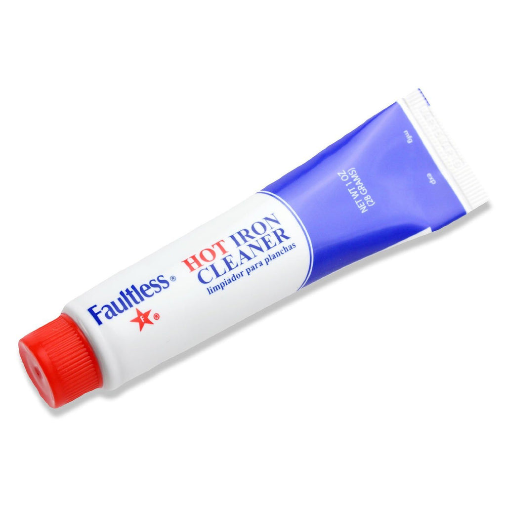 Faultless Hot Iron Soleplate Cleaner & Burn Remover Easy and Handy, Can Be Used To Remove Melted Webs, Fusibles - SustainTheFuture - 3