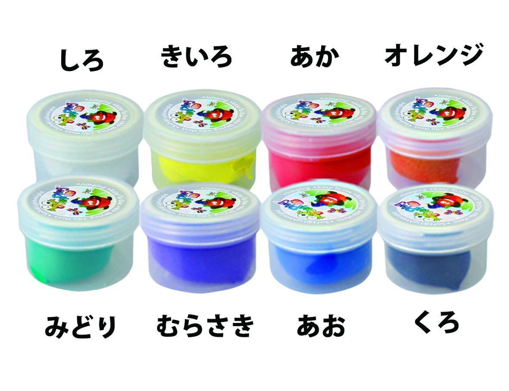 Jumping Clay - Air Dry Modelling Clay. Mess Free and non-toxic - 8 Colour Clay S - SustainTheFuture - 6