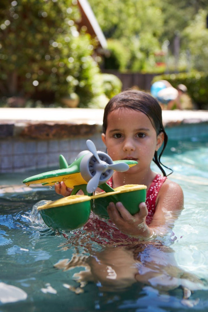 Green Toys SEAG - Seaplane (Green Wings) Safe, non-toxic; contains no BPA, PVC - SustainTheFuture - 4
