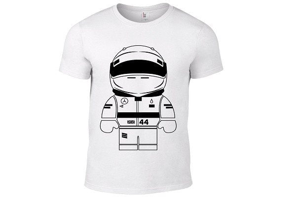 Inspired by F1 - Lewis Hamilton 100% Cotton - SustainTheFuture