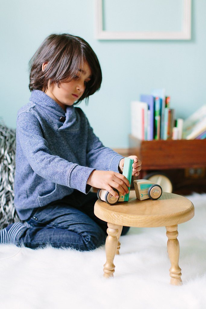 Tegu Circuit Racer Magnetic Wooden Block Set with Tegu's FUTURE sets - SustainTheFuture - 10