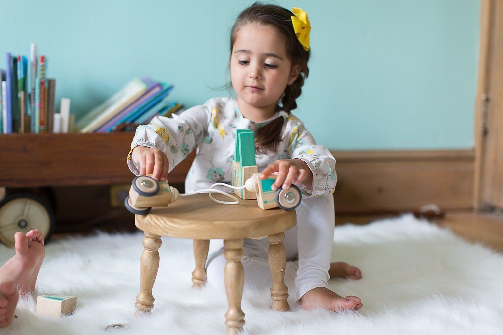 Tegu Circuit Racer Magnetic Wooden Block Set with Tegu's FUTURE sets - SustainTheFuture - 11
