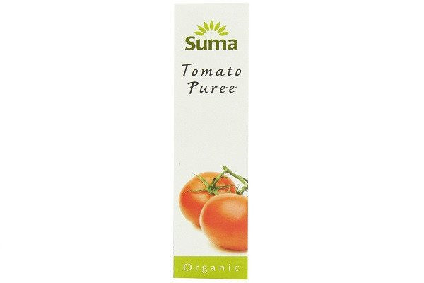 Suma Organic Tomato Puree 200 g (Pack of 12) - Concentrated so it lasts longer - SustainTheFuture - 1