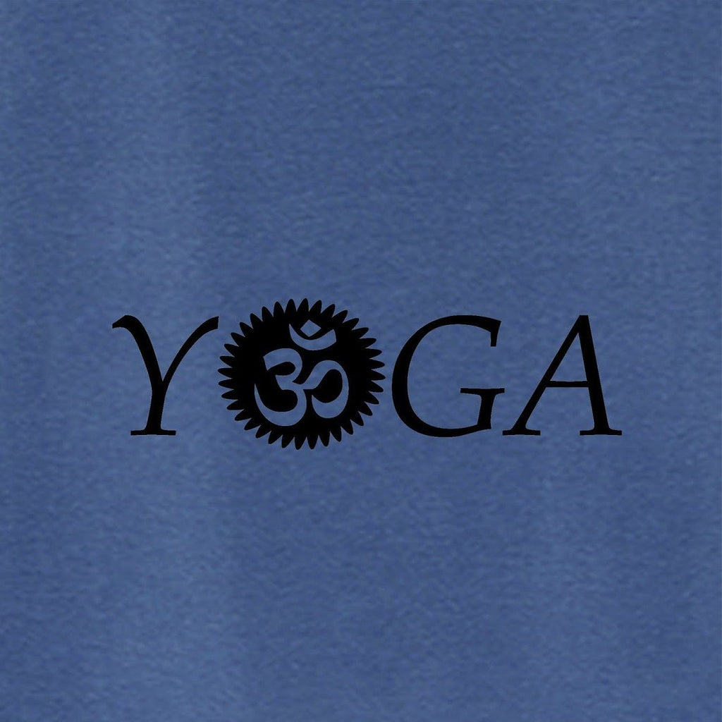 Womens OM Yoga Top made from Eucalyptus Fibre and 50% Organic Cotton - SustainTheFuture - 5