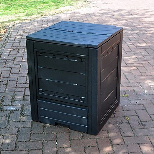 FunkyBuys® Garden Eco Compost Converter Bin 260L Capacity Compogreen Composter Recycling Box Garden Waste - SustainTheFuture - 2