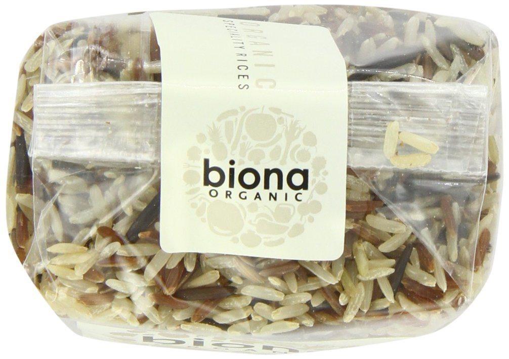 Biona Organic Wild Rice Mix 500 g (Pack of 3) - mix of exotic rices,  Gm free - SustainTheFuture - 5