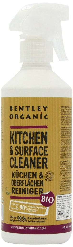 Bentley Organic Kitchen and Surface Cleaner, Orange Fresh 500 Ml. 100 percent na - SustainTheFuture - 3