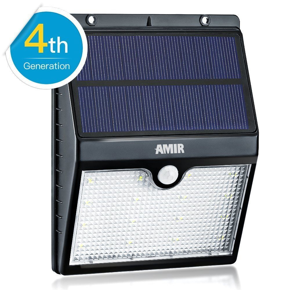 Solar Motion Sensor Lights, Amir® 16 LED Solar Energy Powered Outdoor Bright Lig - SustainTheFuture - 5