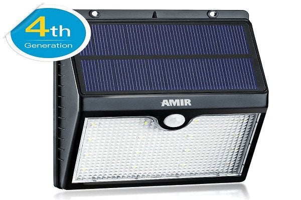 Solar Motion Sensor Lights, Amir® 16 LED Solar Energy Powered Outdoor Bright Lig - SustainTheFuture - 1